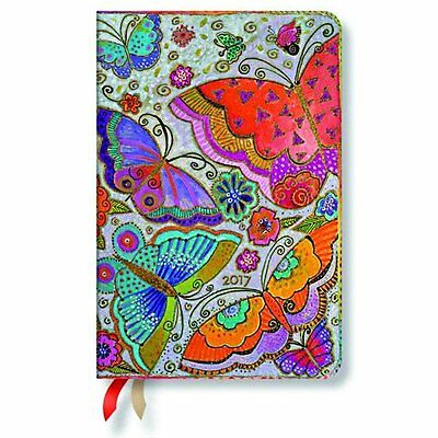 Paperblanks 2017 Midi Day at a time Diary - Paperblanks Flutterbyes