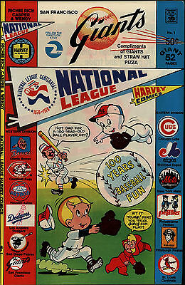 National League San Francisco Giants Promo #1 Fine Harvey Comics 1976 CBX31