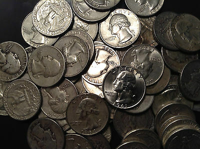 2 OUNCE BAG Mix Sale U.S. Junk Silver Bullion Coins ALL 90% Silver Pre 1965 1