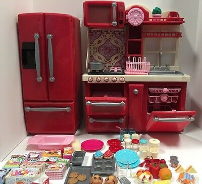 our generation gourmet kitchen set refrigerator for 18