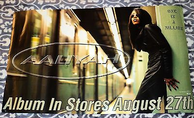 AAliyah one in a million GREEN poster