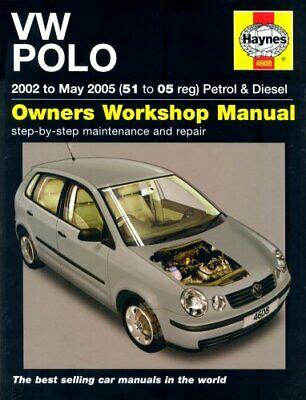 VW Polo Petrol and Diesel: 2002 to 2005 (Service & rep... by Jex, R. M. Hardback