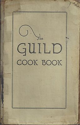 *columbus Oh 1925 Antique St Mark's Lutheran Church *the Guild Cook Book *rare