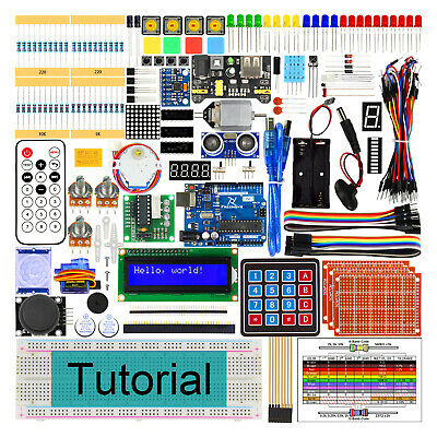 Freenove Ultimate Starter Kit for Arduino Beginner Uno R3 LCD Servo Processing