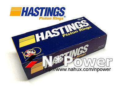 Hastings Piston Ring Moly 020 For Ford 4.0L Sohc Falcon Ed Ef 1.5Mm Top Groove