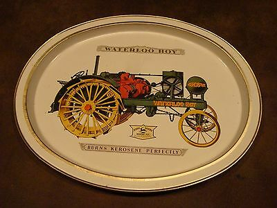 "14-1/2"" John Deere ""Waterloo Boy"" Metal Serving Tray"