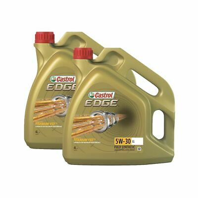 Castrol Edge 8 Litres / 8L High Performance Fully Synthetic 5W30 Car Engine Oil