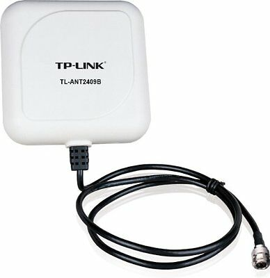 TP-LINK TL-ANT2409B 2.4GHz 9dBi Outdoor Directional Antenna, 1m/3ft cable UXX