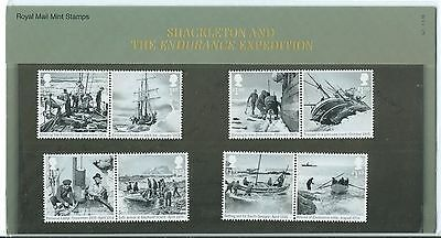 Great Britain 2016 Shackleton And The Endurance Expedition Presention Pack