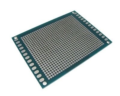 6x8CM Double Side Prototype Board Perforated Through Hole  - 2.0mm Pitch