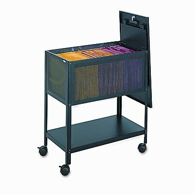 Safco Products Company Steel Mesh Tub File Cart