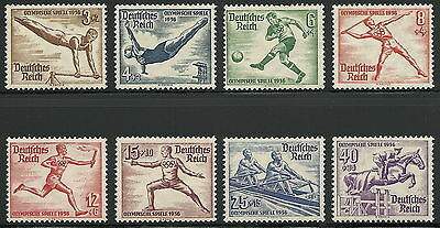 Germany Third Reich 1936 Berlin Summer Olympics Complete Set VF MNH!