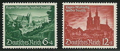 Germany Third Reich 1940 Union of Eupen-Malmedy with Germany Complete Set VF**