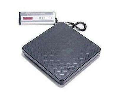 "Siltec PS-100L Shipping weighing Scale 100lbX0.1lb,Base 12""X12.4"",Heavy Duty,New"