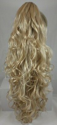 Long Curly Ponytail Hairpiece Claw Clip On in Irish Dancer's Hair Cheerleaders