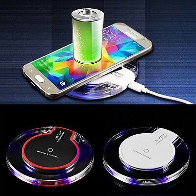 For Samsung S5 S3 Note 2 3 Charging Pad Qi Wireless Charger Dock Receiver Hot