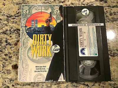 Dirty Work Rare Vhs! Not On Dvd! Friends Frame Each Other Mob Kevin Dobson