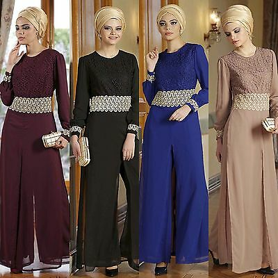 Elegant Modest Islamic Jumpsuit Jump Suit Abaya Dress Al Haya Nisa Collection