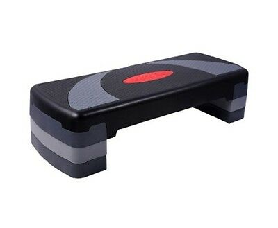 NEW Adjustable 3-level Stack Home Fitness Exercise Workout Aerobic Step Bench