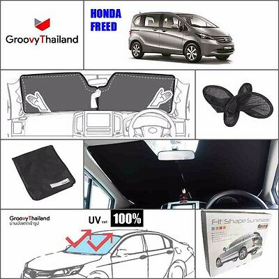 1 Pc Front Windshield Foldable Curtain Car Sun Shade Fit Honda Freed