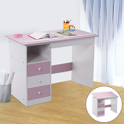 Tiltable Study Desk Kids Children Computer Writing Drawing Table PC Laptop Home