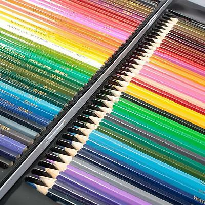 72Pcs Metallic Non-toxic Colored Soluble Drawing Sketching Water Color Pencils