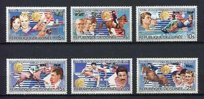 27349) GUINEA 1985 MNH** Nuovi** Olympic Games Los Angeles