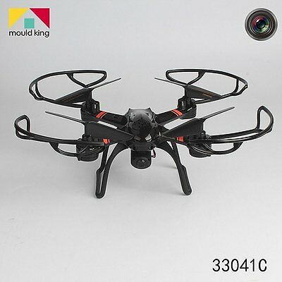 Mould King Super-F 4CH 2.4GHz 6-axis Gyro RC Quadcopter with LED Flashing Light