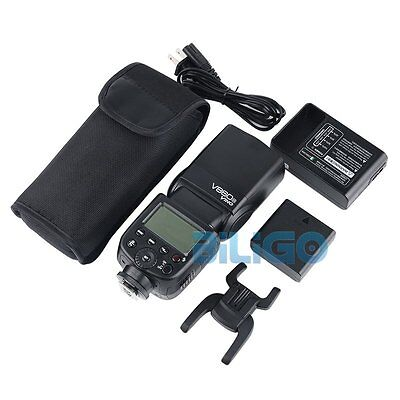 Godox Ving V860N i-TTL Speedlite Li-ion Battery Flash + Charger Kit for Nikon