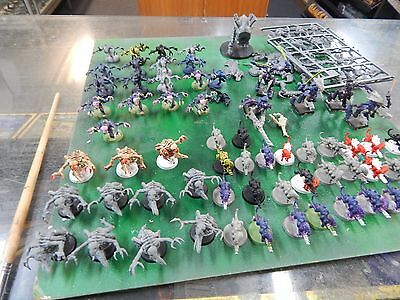 Games Workshop Warhammer 40k Tyranids assorted bits and pieces
