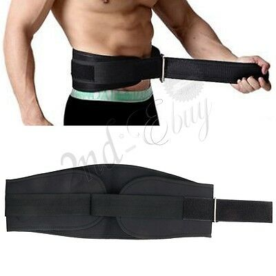 BodyBuilding Weight Lifting Fitness Gym Waist Back Support Belt Workout Fitness
