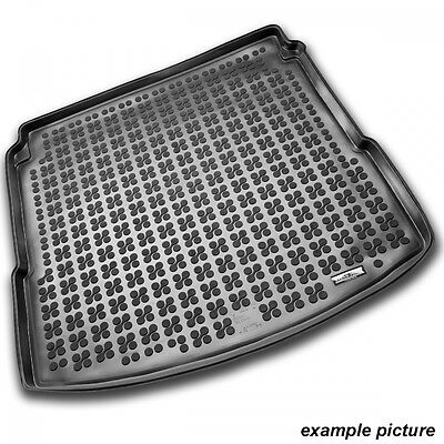 TAILORED RUBBER BOOT LINER MAT TRAY Seat Leon ST since 2014 lower trunk