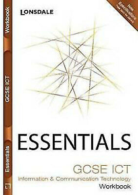 Lonsdale GCSE Essentials - ICT: Workbook (inc. Answers), New, VARIOUS Book