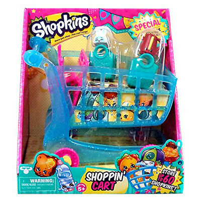 Shopkins Shopping Cart Season 3 Push N Play Exclusive Collectible Play Set Toy