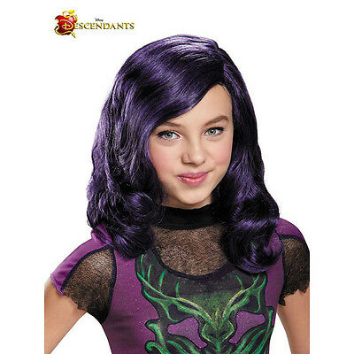 Descendants Mal Isle of the Lost Girls Costume Wig | Disguise 88155