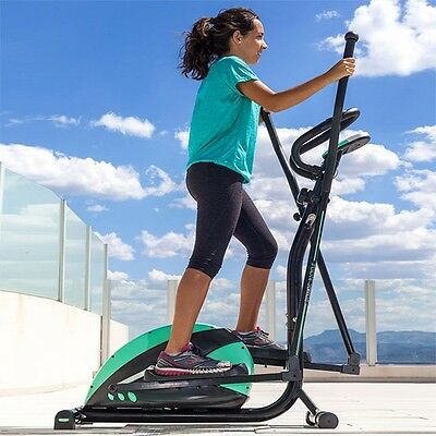 Vélo D'appartement Appareil Elliptique Cardio Training Stepper Ergometre Lcd