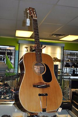 Yamaki Deluxe Folk Acoustic Guitar AY 333 6-String Instrument