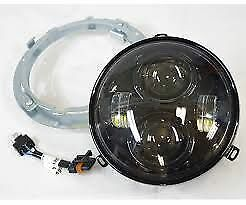 "Harley Davidson 7"" Daymaker Projector Led Headlamp, Gloss Black 67700244"