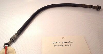 2002 Yamaha 660 Grizzly ATV Front Brake Hose (From Master Cylinder) 5KM-25872-00
