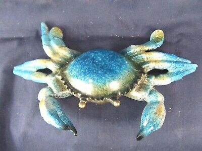 Blue Crab Sea Life Collectible Figurine Home Decor Resin