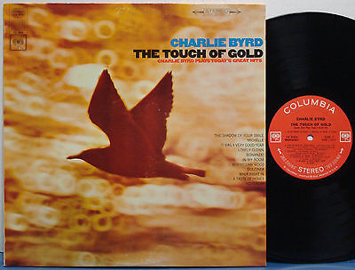 CHARLIE BYRD The Touch of Gold EXC 1966 2-EYE COLUMBIA STEREO LP Charlie Calello