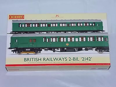 HORNBY R3162AX OO SCALE Class 401 2-BIL 2 car EMU 2142 BR green DCC Fitted