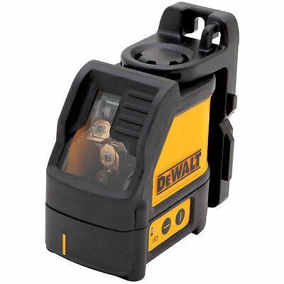 DeWalt DW088K Self Leveling Horizontal/Vertical Cross Line Laser Level