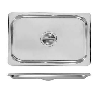 3x Lid for Bain Marie Tray / Steam Pan / Gastronorm / GN, 1/1, Stainless Steel
