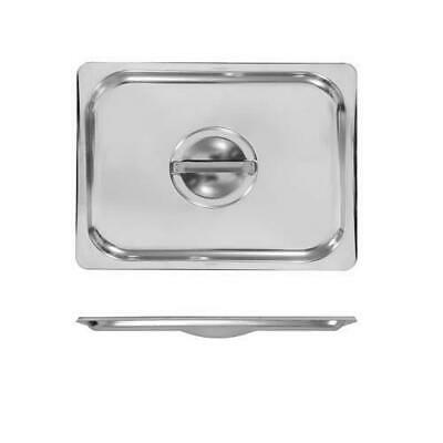3x Lid for Bain Marie Tray / Steam Pan / Gastronorm / GN, 1/2, Stainless Steel