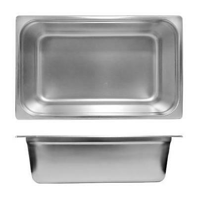 6x Bain Marie Tray / Steam Pan / Gastronorm 1/1 Size 150mm Deep, Stainless Steel