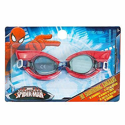 Red Swimming Goggles Marvel Spider Man Kids Boys Pool Beach Swim Goggles Gift
