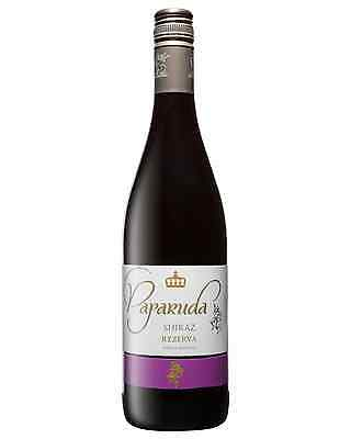 Paparuda Rezerva Shiraz 2012 case of 6 Syrah Dry Red Wine 750mL Timisoara