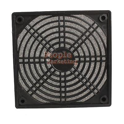 Black Dustproof 120mm Mesh Case Fan Dust Filter Cover Grill for PC Computer