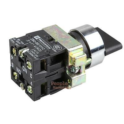 10A 3 Position 2NO Maintained Toggle Select Selector Switch XB2-BD33C 45 Degrees
